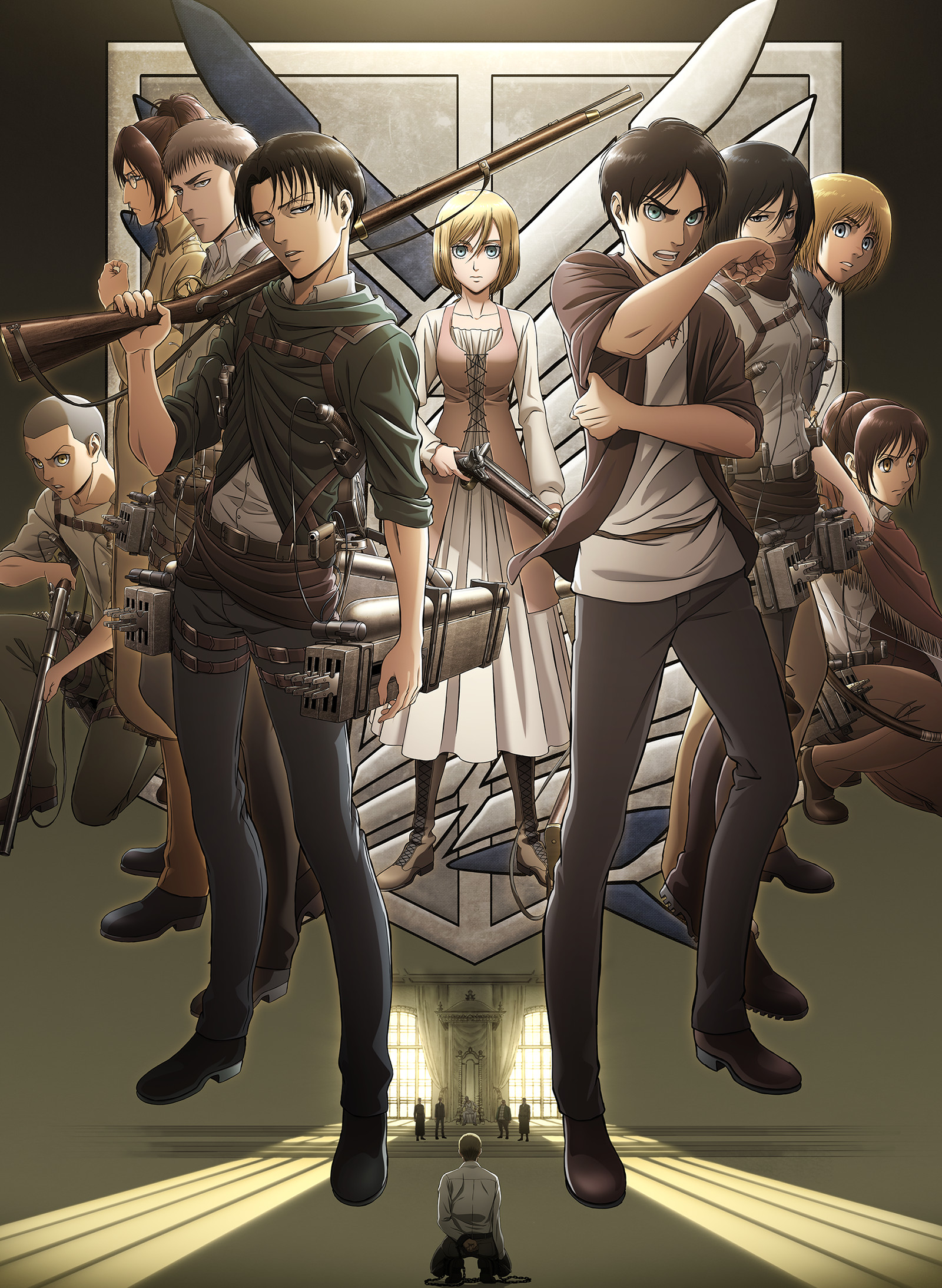 Attack on Titan S3 Official Poster