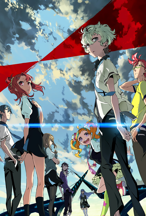 Kiznaiver SciFi or Mecha Anime of the Year