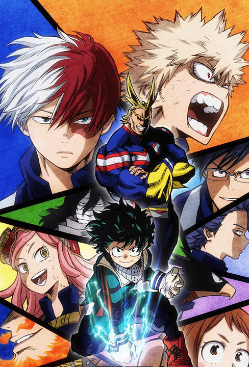 My Hero Academia S2 Best in Animation Effects And Sequences