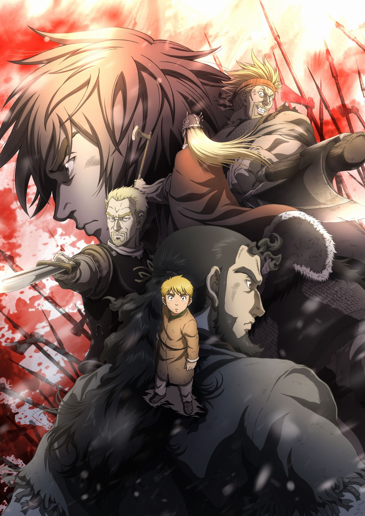 Image result for vinland saga anime poster