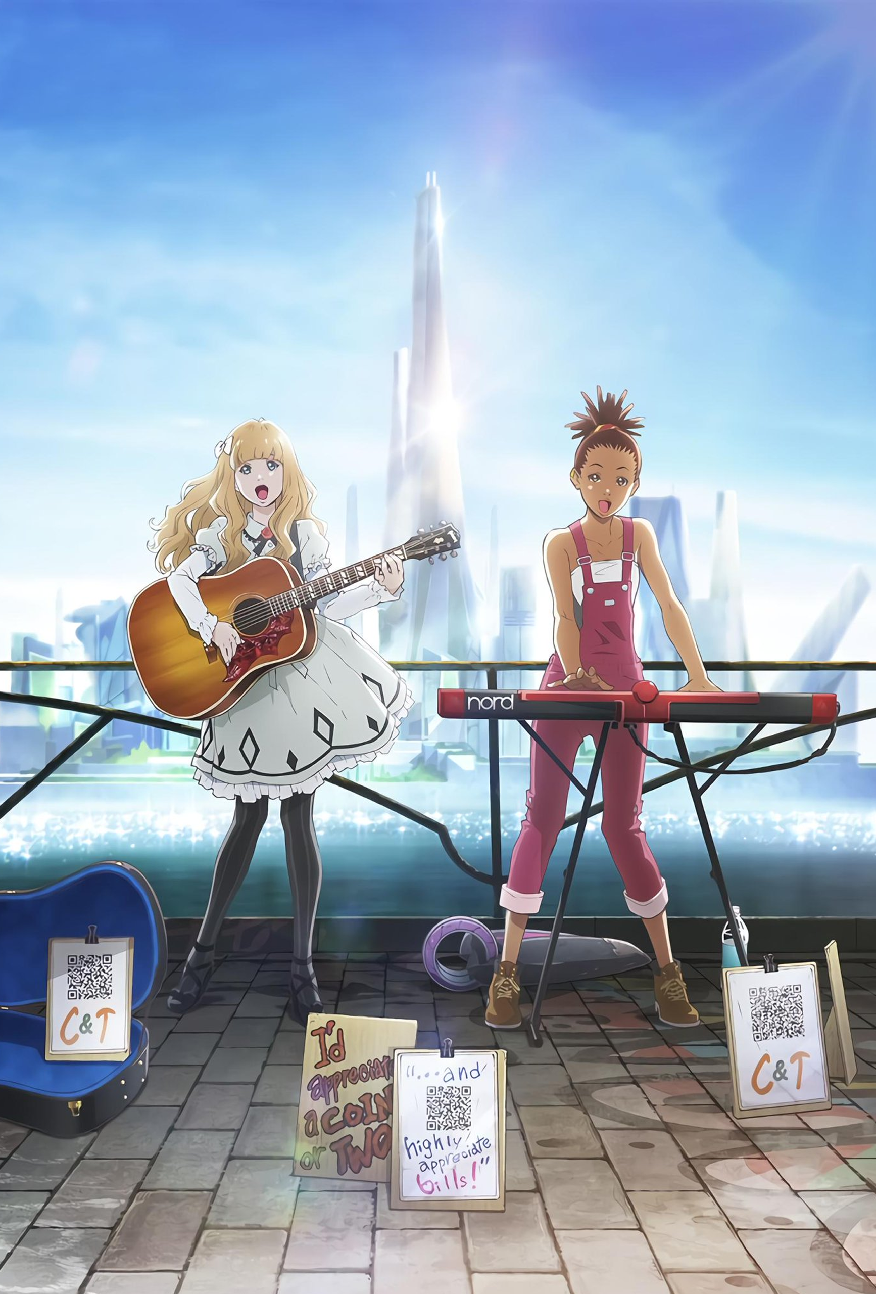 Carole & Tuesday Anime of the Season