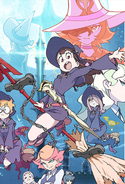 Little Witch Academia (TV) Best in Character Design