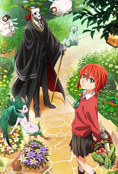 The Ancient Magus Bride Fantasy or Magical Anime of the Year